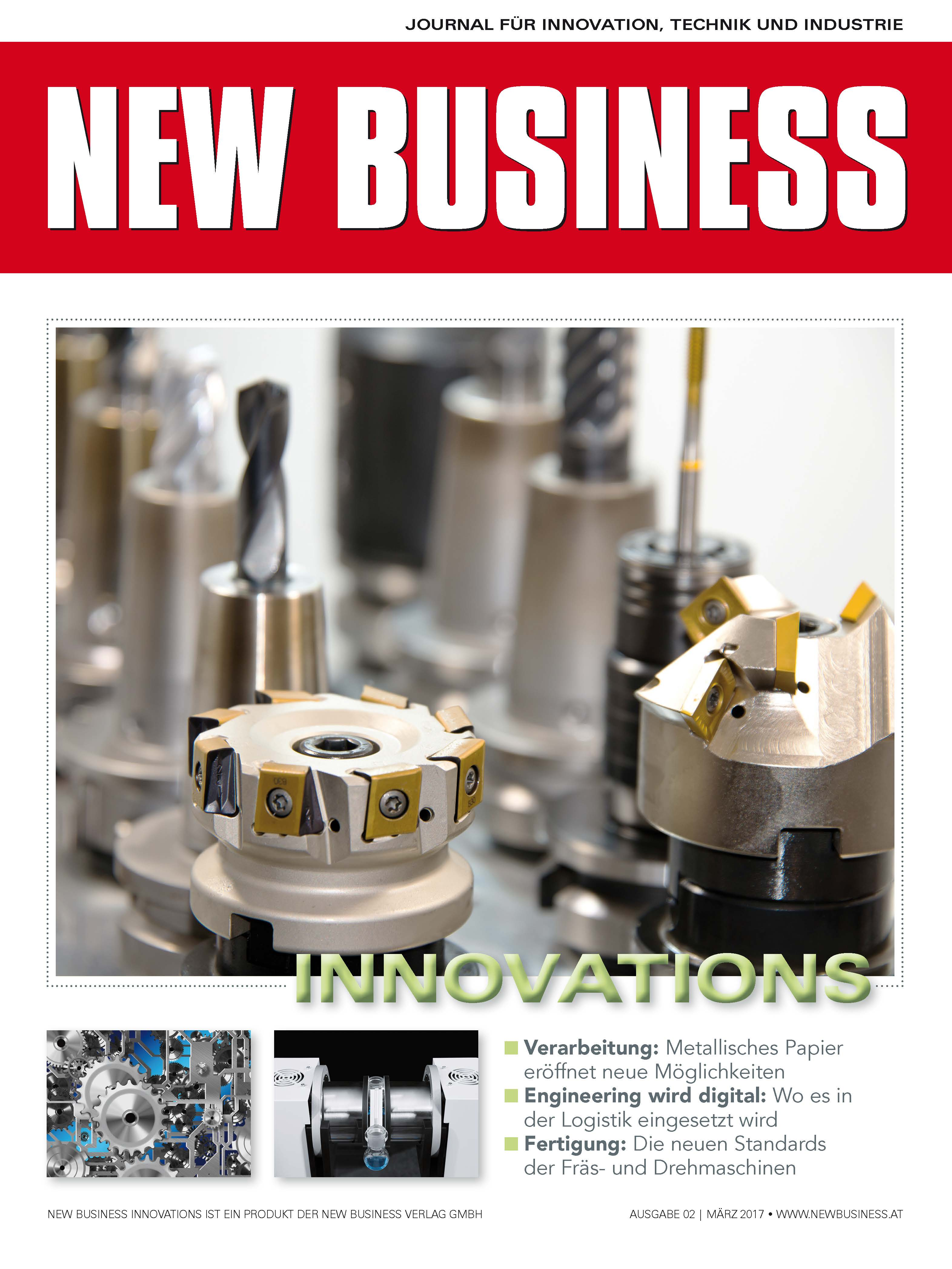 Cover: NEW BUSINESS Innovations - NR. 02, März 2017