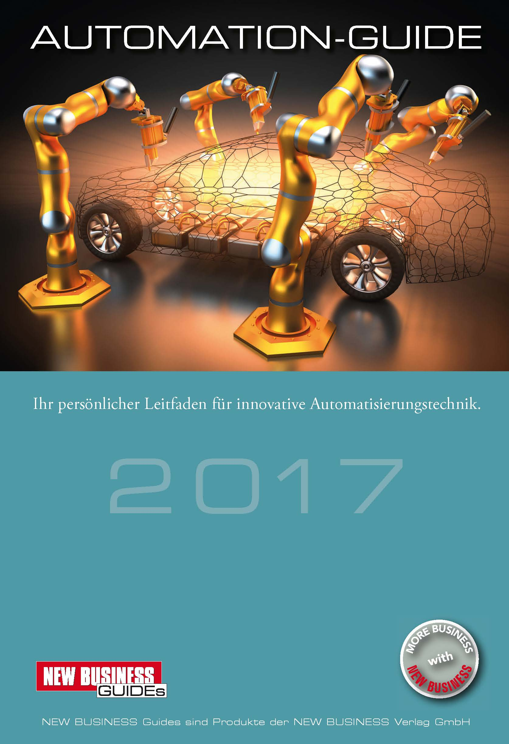 Cover: NEW BUSINESS Guides - AUTOMATION GUIDE 2017