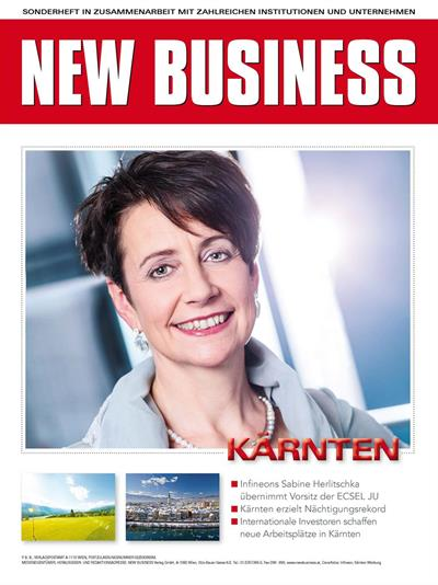 Cover: NEW BUSINESS Bundeslandspecial - KÄRNTEN 2018
