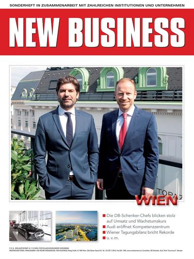 Cover: NEW BUSINESS Bundeslandspecial - WIEN 2018