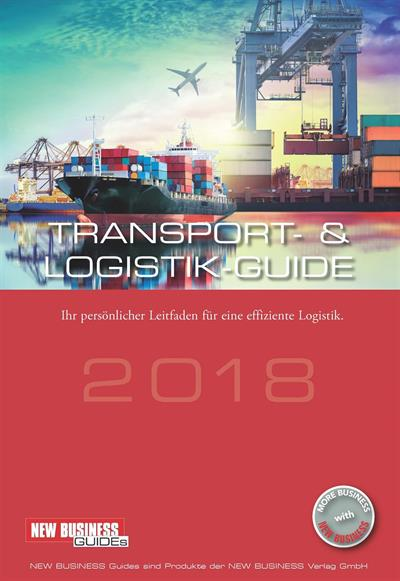 Cover: NEW BUSINESS Guides - TRANSPORT- & LOGISTIK GUIDE 2018