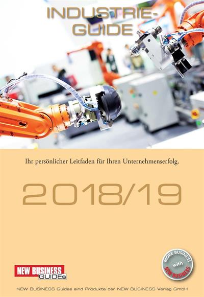 Cover: NEW BUSINESS Guides - INDUSTRIE GUIDE 2018/19