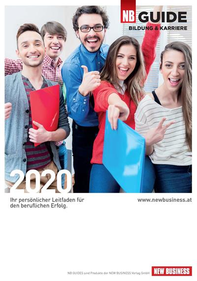 Cover: NEW BUSINESS Guides - BILDUNGS- & KARRIERE-GUIDE 2020