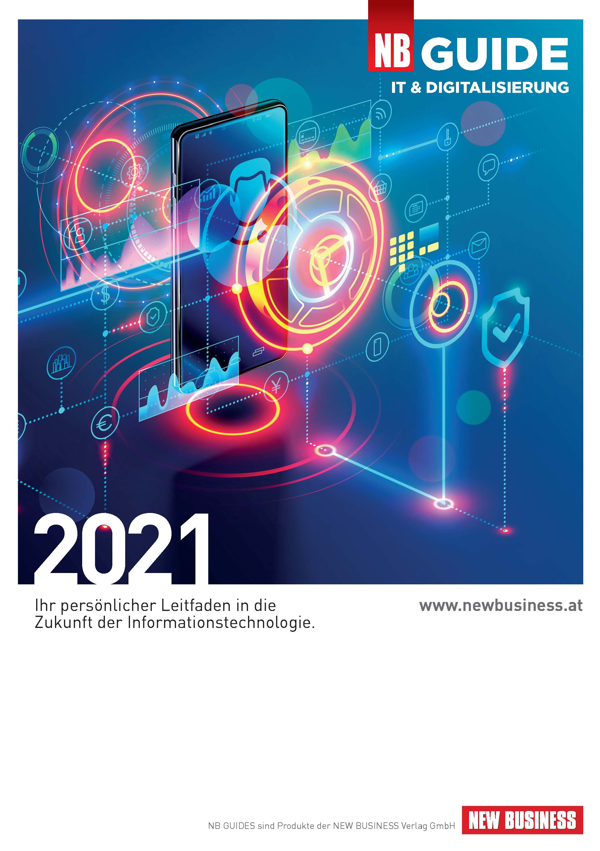 Cover: NEW BUSINESS Guides - IT- & DIGITALISIERUNGS-GUIDE 2021