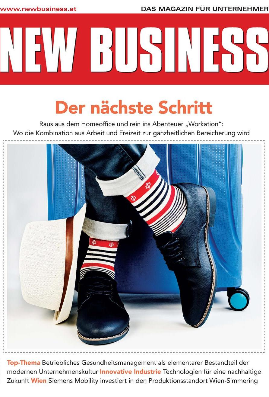 Cover: NEW BUSINESS - NR. 4, MAI 2021