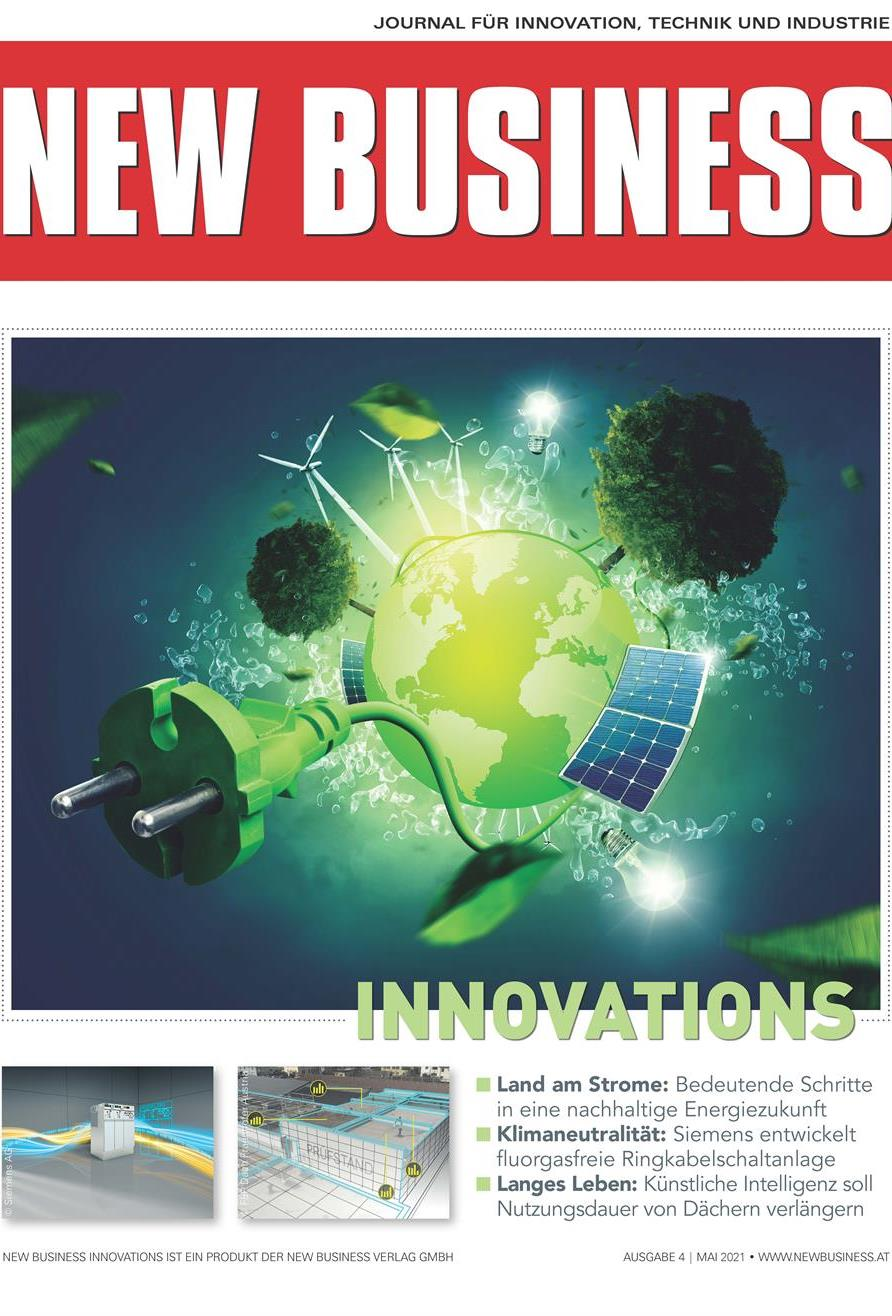 Cover: NEW BUSINESS Innovations - NR.4, MAI 2021